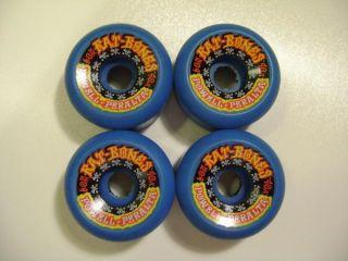 Powell Peralta Rat Bones II Skateboard Wheels 60mm 90A Blue