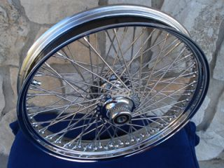 21X3 60 SPOKE FRONT WHEEL FOR HARLEY HERITAGE & FATBOY 2000 2006