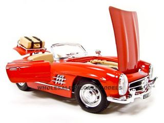 1957 Mercedes 300SL Touring Red CNVT 1 18 Diecast Model
