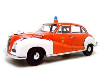 BMW 502 Fire Chief Brigade 1 18 Autoart Diecast Model