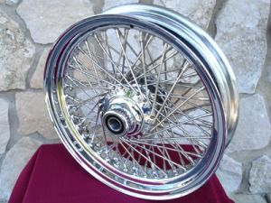 16X3 80 SPOKE FRONT WHEEL FOR HARLEY FXST, SOFTAIL STANDARD & DYNA