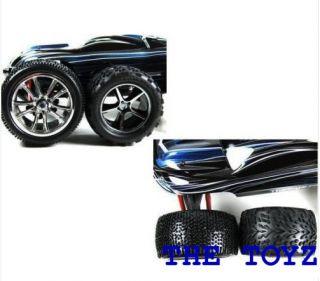 Mini 1 16 Revo White Rim and Tire Set by The Toyz 201 White