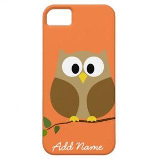 Cute Owl iphone 5 Cartoon iPhone 5 Cases