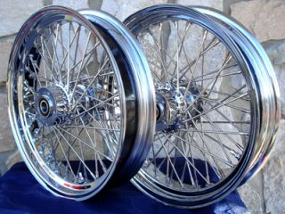18X3.5 60 SPOKE WHEEL SET FOR HARLEY TOURING MODELS 2000 UP