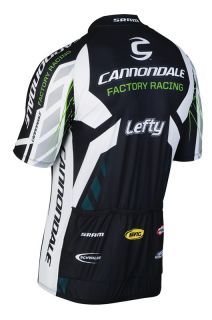 Cannondale Factory Racing CFR 2011 Team Jersey   Black   Extra Large