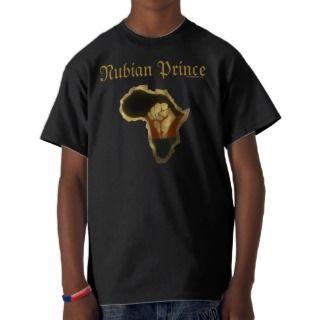 Nubian Prince  Youth Tee Shirts