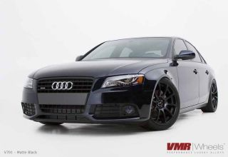 19x8 5 VMR 701 Matte Black Wheel 5x112 Fit Audi A4 A5 A6 A8 Allroad S4