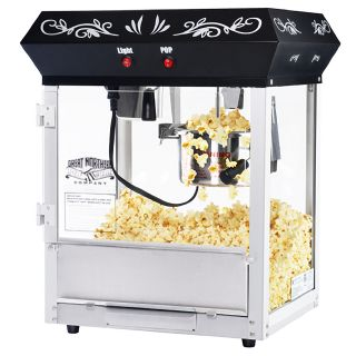 Vintage Great Northern Popcorn Black Foundation Popcorn Popper Machine
