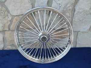 21x3 5 16x5 5 DNA 52 Spoke Fat Daddy Wheels for Harley Softail Touring
