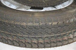 Pair of Load Star st205 75D15 K550 Trailer Wheel Rim Tire