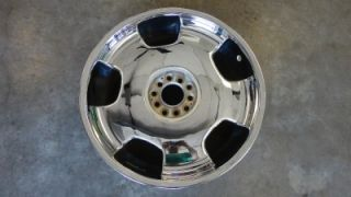 RARE LORINSER D93 CHROME WHEEL RIM 20 20x9 MERCEDES BMW 5x112 5x120