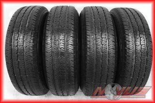 WRANGLER GRAND CHEROKEE FACTORY OEM STEEL WHEELS GOODYEAR TIRES 18 17