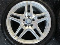 13 Mercedes E350 E550 Factory AMG 18 Wheels Tires Rims OEM W212 W211