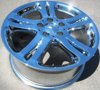 Factory Mercedes E350 E500 E320 C230 C350 Chrome Wheels Rims