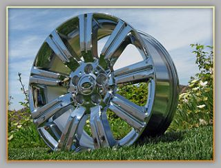 Range Rover Sport Stormer 20 Chrome Wheels Rims