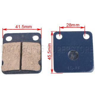 Disc Brake Pads for taotao Roketa Sunl ATV 4 Wheeler Pit Dirt Bike Go
