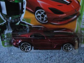 Hot Wheels 2012 011 247 2013 Viper SRT Premiere Red New Models