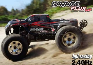 HPI Racing RC Savage Flux HP Brushless Off Road Monster Truck 2 4GHz