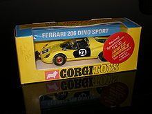 RARE Vintage Corgi Beaufort Double Horse Box Diecast Model