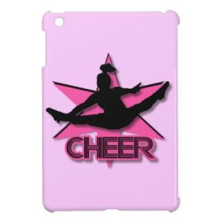 Cheerleader in pink ipad Mini Case