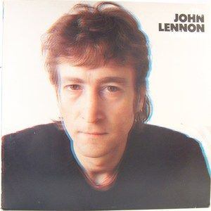 John Lennon Beatles Collecton Spain Import Album Misprinted Cover