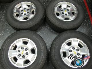 Tahoe Silverado Avalanche Factory 17 Wheels Tires Goodyear HP Rims OEM