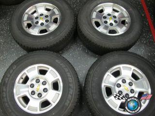Tahoe Silverado Avalanche Factory 17 Wheels Tires Goodyear HP Rims OEM