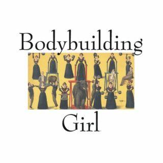 TOP Bodybuilding Girl Photo Sculpture