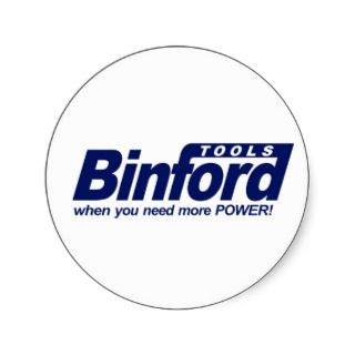Binford Tools Tool Time Round Sticker