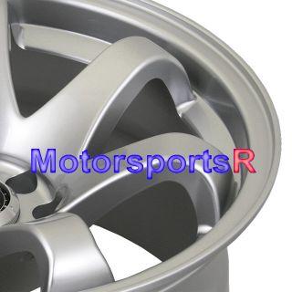 15 15x8 XXR 522 Hyper Silver Concave Rims Wheels 71 Datsun 240Z 260z