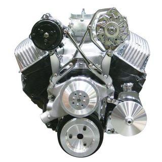 New Bills Hot Rod A C Alternator Power Steering Bracket SBC BBC Chevy
