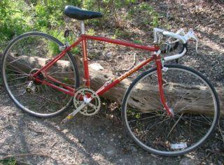 Vtg Schwinn Traveler 12 Speed Red Road Bike Bicycle 27