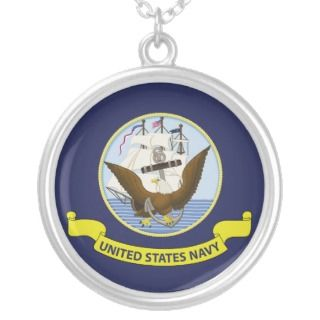 Flag of the United States Navy Necklaces