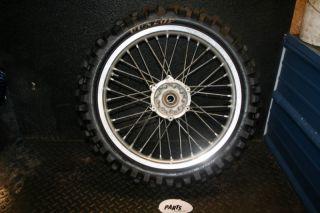 YZ450F YZ WR 450 Rear Wheel Hub Rim Spokes