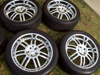 22 Range Land Rover Disco II Wheels Discovery LR3 Momo Nitto Tires