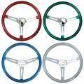 MOONEYES GS260CMRD Red Steering Wheel California Metal Flake (Slotted