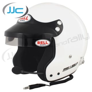 Bell Mag 1 Rally Intercom Helmet Size x Large 60 61cm Open Face Rally