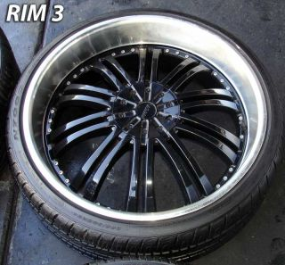 24 inch Used Truck Wheels Rims Used Tire 300C Strada Charger Explorer