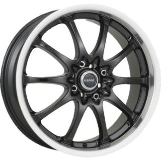 18 inch Motegi Riax Black Racing Wheels Rims 5 Lug New