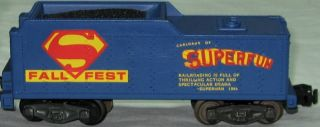 American Flyer 1979 Fall s Fest Superman Steam Engine