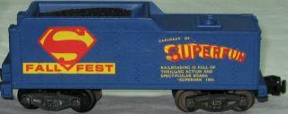 American Flyer 1979 Fall s Fest Superman Steam Engine