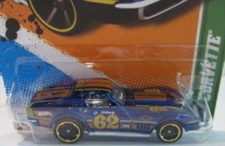 Hot Wheels Treasure Hunt 69 Corvette 2012 Master Hologram Factory