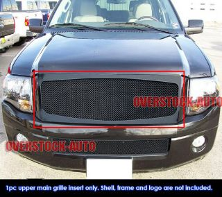 Stainless Black Mesh Grille 2007 11 Ford Expedition