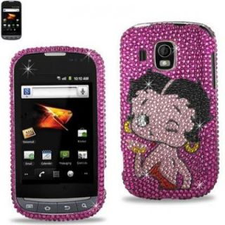 Betty Boop Samsung Transform Ultra Design Protector Diamond Bling Case