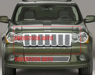 Stainless Mesh Grille 2009 2010 Jeep Grand Cherokee