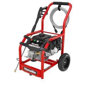 Homelite 2 500 PSI 2 3 GPM Axial Cam Pump Gas Pressure Washer HL252300