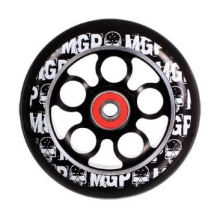 MGP Aero Core 110mm Kick Scooter Wheel w Bearings Slv Blk Madd Gear