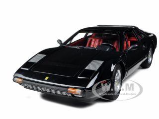 Ferrari 308 GTB Black 1 18 Diecast Model Car by Hotwheels V8378