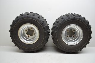 02 Honda TRX250EX 250EX Rear Wheels Rims 20 Radial Tires Sportrax