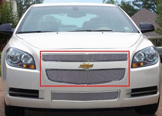 08 12 2011 2012 Chevy Malibu Stainless Mesh Grille Grill Insert